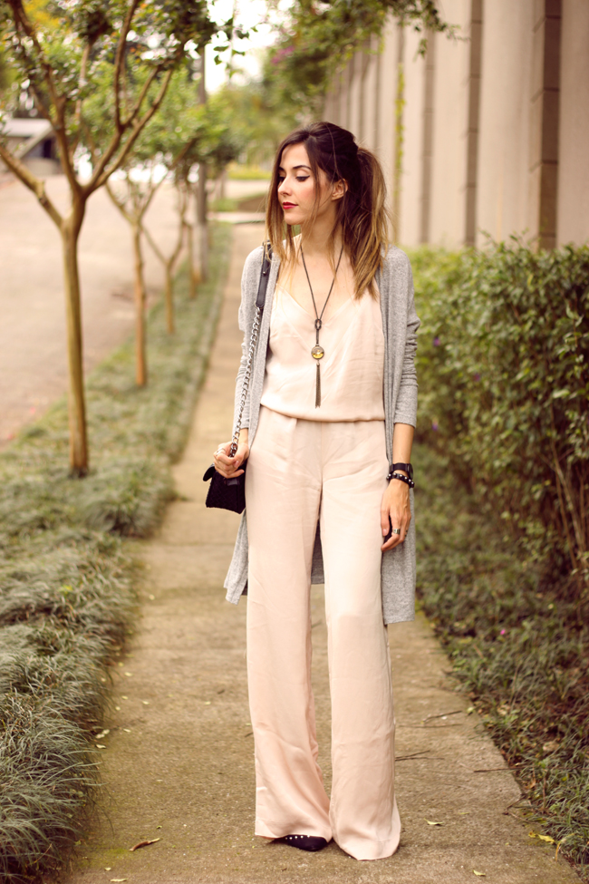 FashionCoolture - 08.10.2015 look du jour Shoulder jumpsuit nude (6)