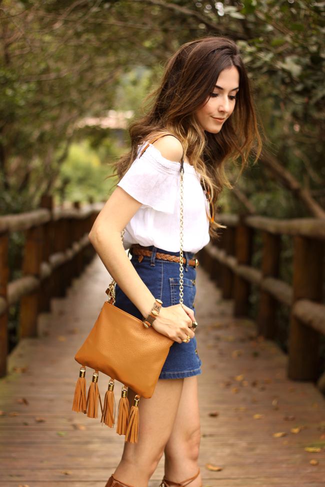 FashionCoolture - 26.10.2015 look du jour Dafiti button front denim skirt  (2)