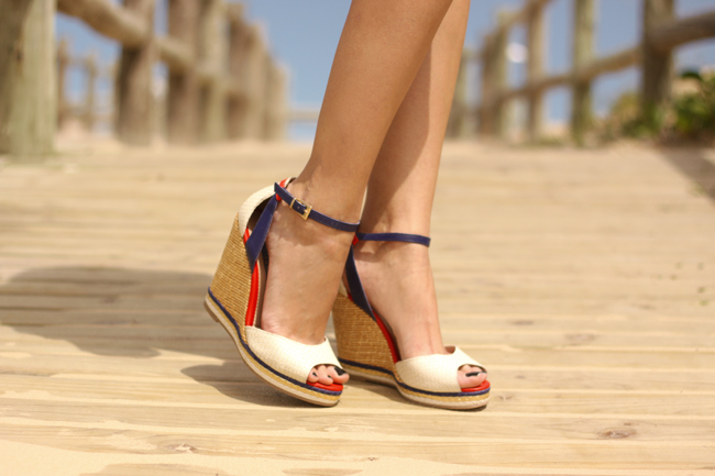 FashionCoolture - 05.11.2015 look du jour navy prints Tanara wedges summer look (4)
