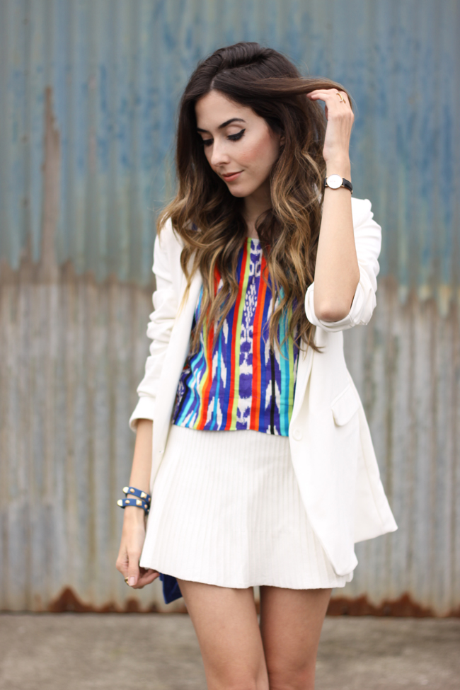 FashionCoolture - 10.11.2015 look du jour Anna Morena printed top sandália Tanara (2)