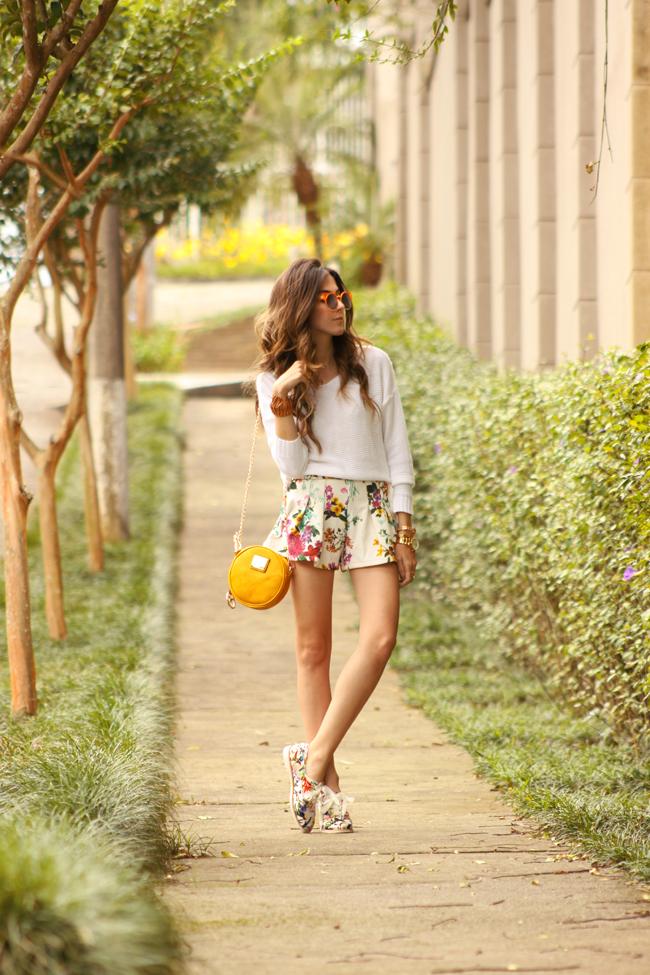 FashionCoolture - 17.11.2015 look du jour Dafiti floral shorts Keds (8)
