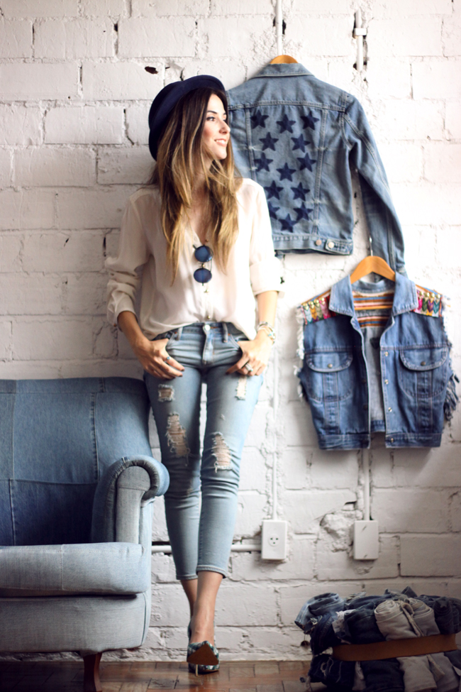 FashionCoolture - 18.11.2015 look du jour denim Gap Pandora bracelets (10)