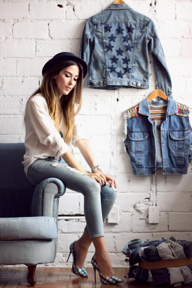 FashionCoolture - 18.11.2015 look du jour denim Gap Pandora bracelets (6)