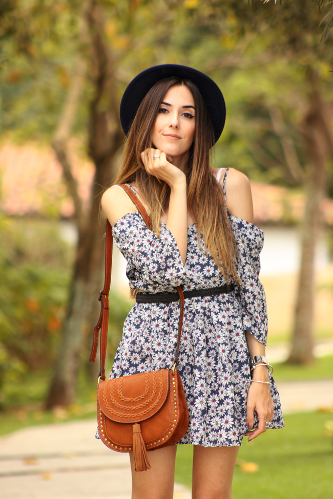 FashionCoolture - 19.11.2015 look du jour Amaro floral dress boho outfit (2)