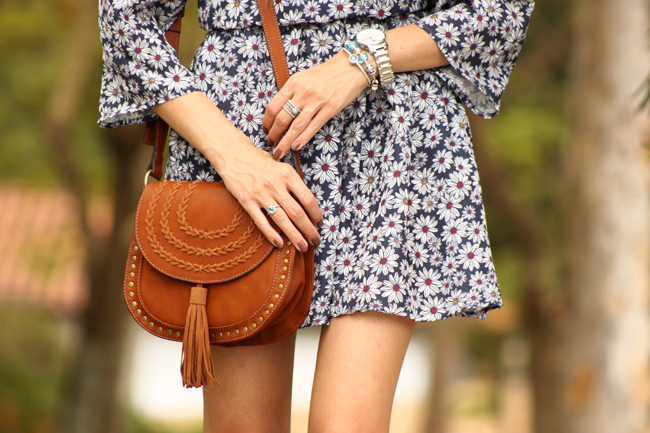 FashionCoolture - 19.11.2015 look du jour Amaro floral dress boho outfit (5)