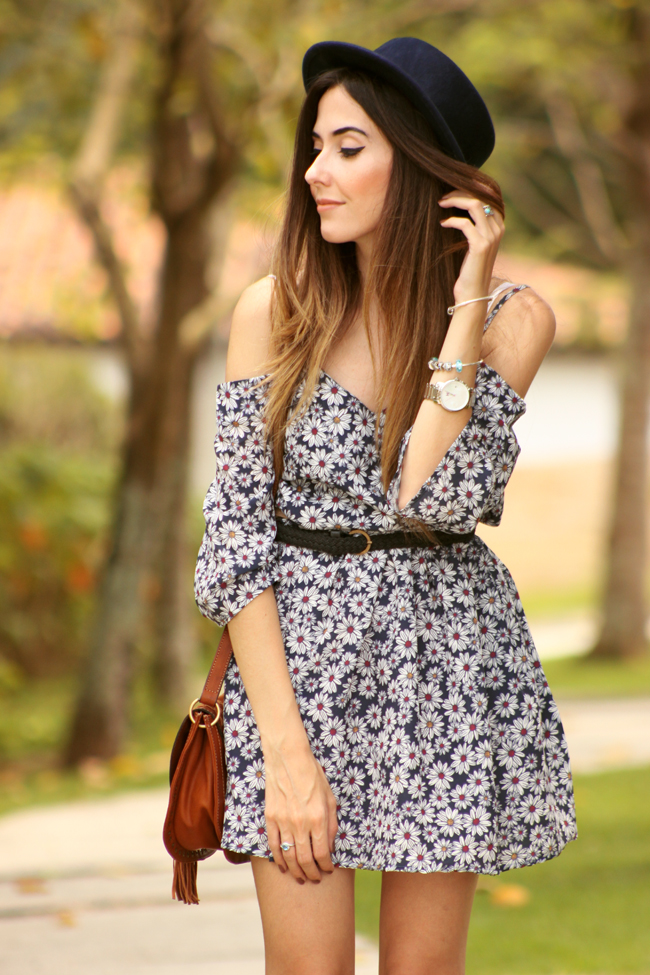 FashionCoolture - 19.11.2015 look du jour Amaro floral dress boho outfit (6)