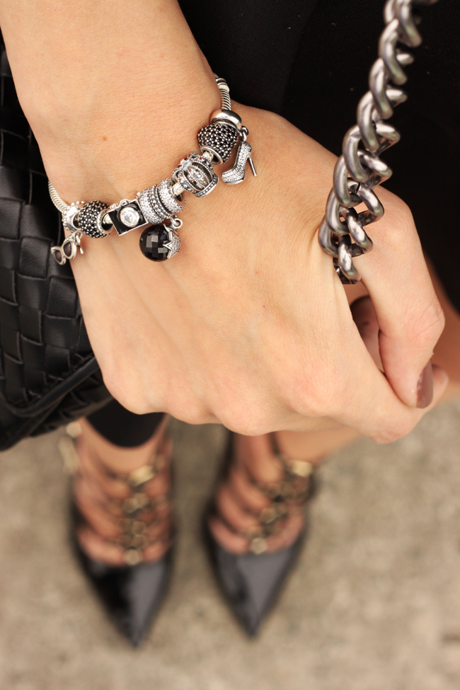 FashionCoolture - 23.11.2015 look du jour Pandora bracelets little black dress (4)