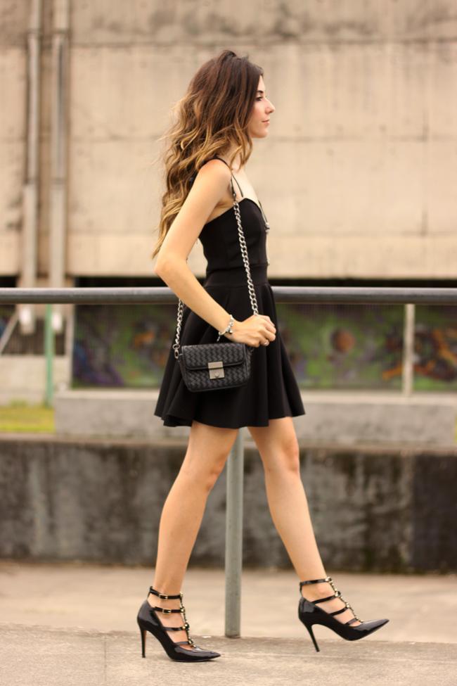 FashionCoolture - 23.11.2015 look du jour Pandora bracelets little black dress (5)