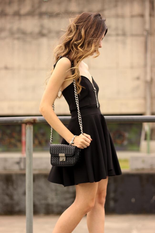 FashionCoolture - 23.11.2015 look du jour Pandora bracelets little black dress (7)