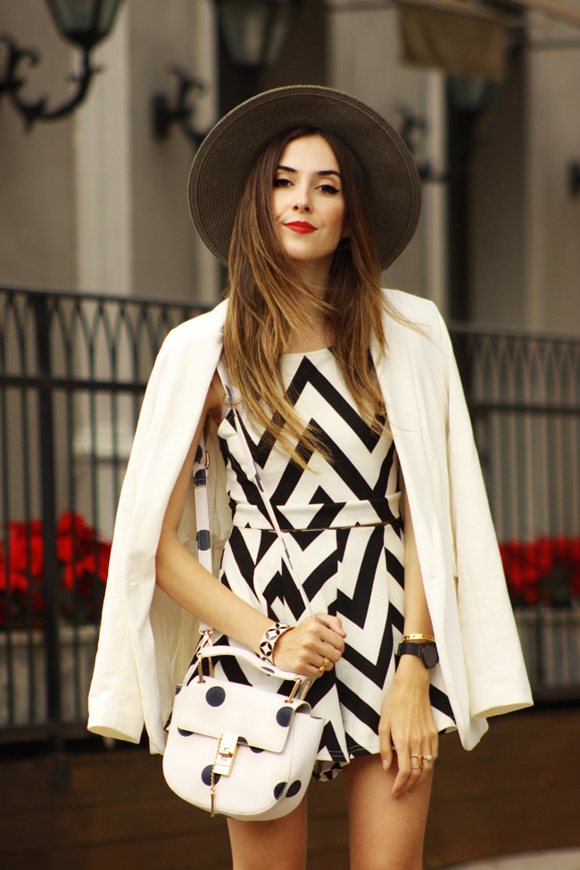 FashionCoolture - 04.12.2015 look du jour FashionFrezzie zig zag print black and white (4)