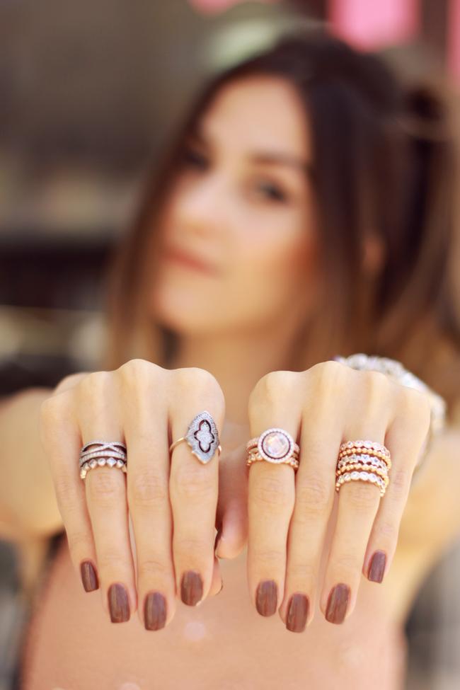 FashionCoolture - 09.12.2015 look du jour Pandora rings baby pink top Burgundy (7)