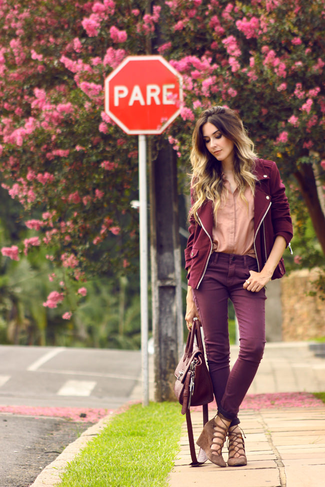 FashionCoolture - 12.0.2016 look du jour Dafiti burgundy Ellus (1)