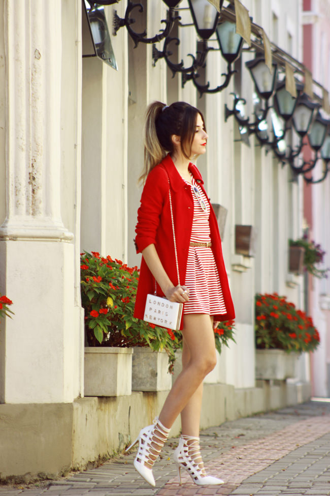 FashionCoolture - 20.01 look du jour Slywear striped white and red (3)