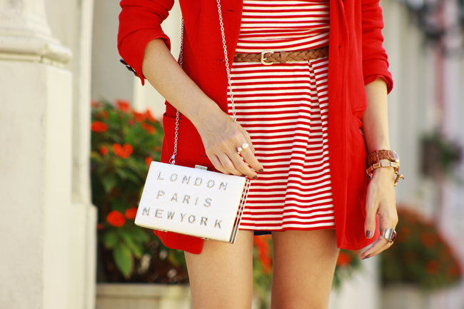 FashionCoolture - 20.01 look du jour Slywear striped white and red (4)