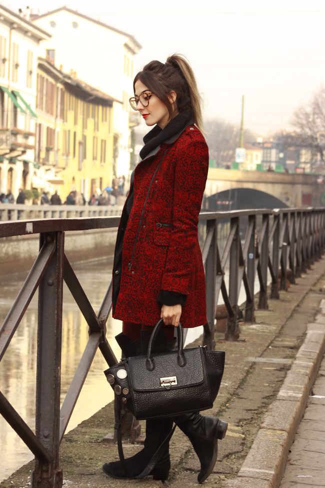FashionCoolture - 25.01.2016 look du jour Milan winter outfit Dafiti long coat (7)