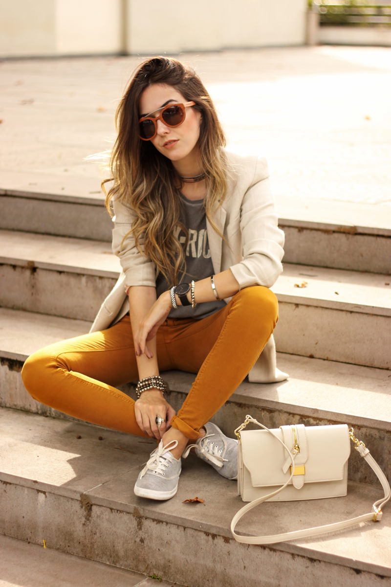 FashionCoolture - 21.03.2016 look du jour Keds Zara denim pants off white bag autumn outfit (8)