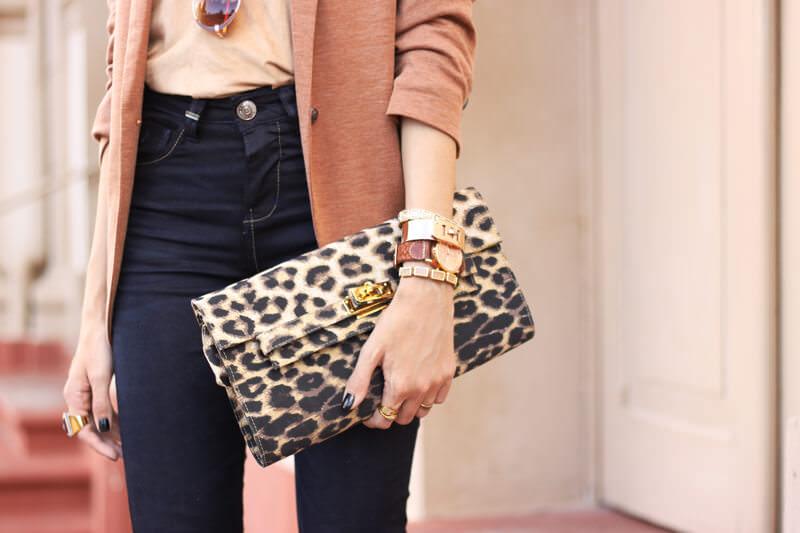 FashionCoolture - 30.03.2016 look du jour flare denim MOfficer jeans camel blazer (4)