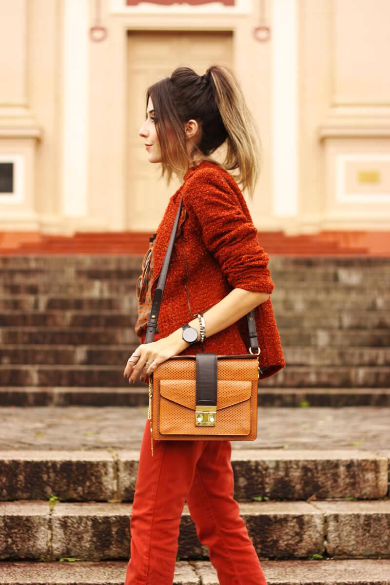 FashionCoolture - 31.03.2016 look du jour denim flare ferrugem boho (2)