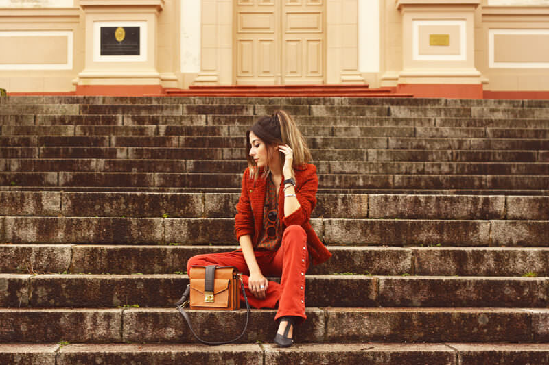 FashionCoolture - 31.03.2016 look du jour denim flare ferrugem boho (4)