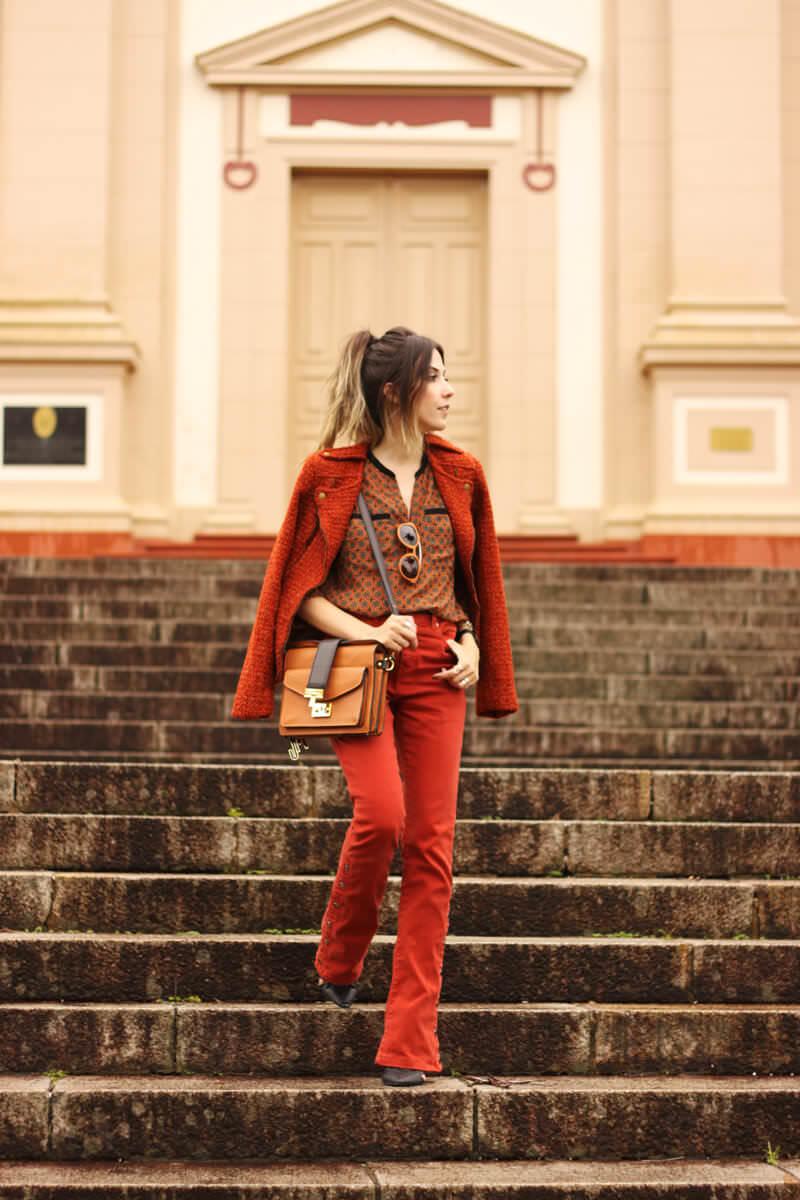 FashionCoolture - 31.03.2016 look du jour denim flare ferrugem boho (7)