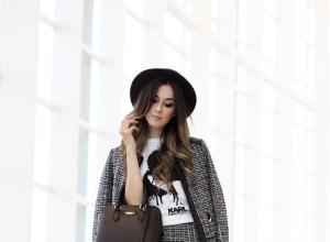 FashionCoolture - look du jour 28.04.2016 Karl Lagerfeld para Riachuelo look black and white tshirt  (6)