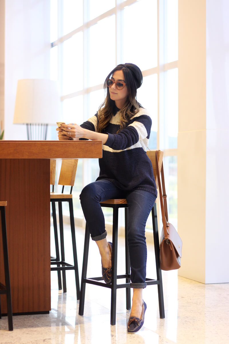 FashionCoolture - 02.05.2016 look du jour Naçoes Shopping Hering jeans listras (1)