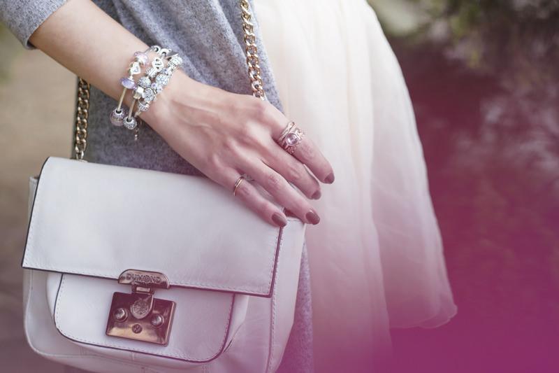 FashionCoolture - 16.05.2016 look du jour Pandora bracelets romantic outfit floral (3)