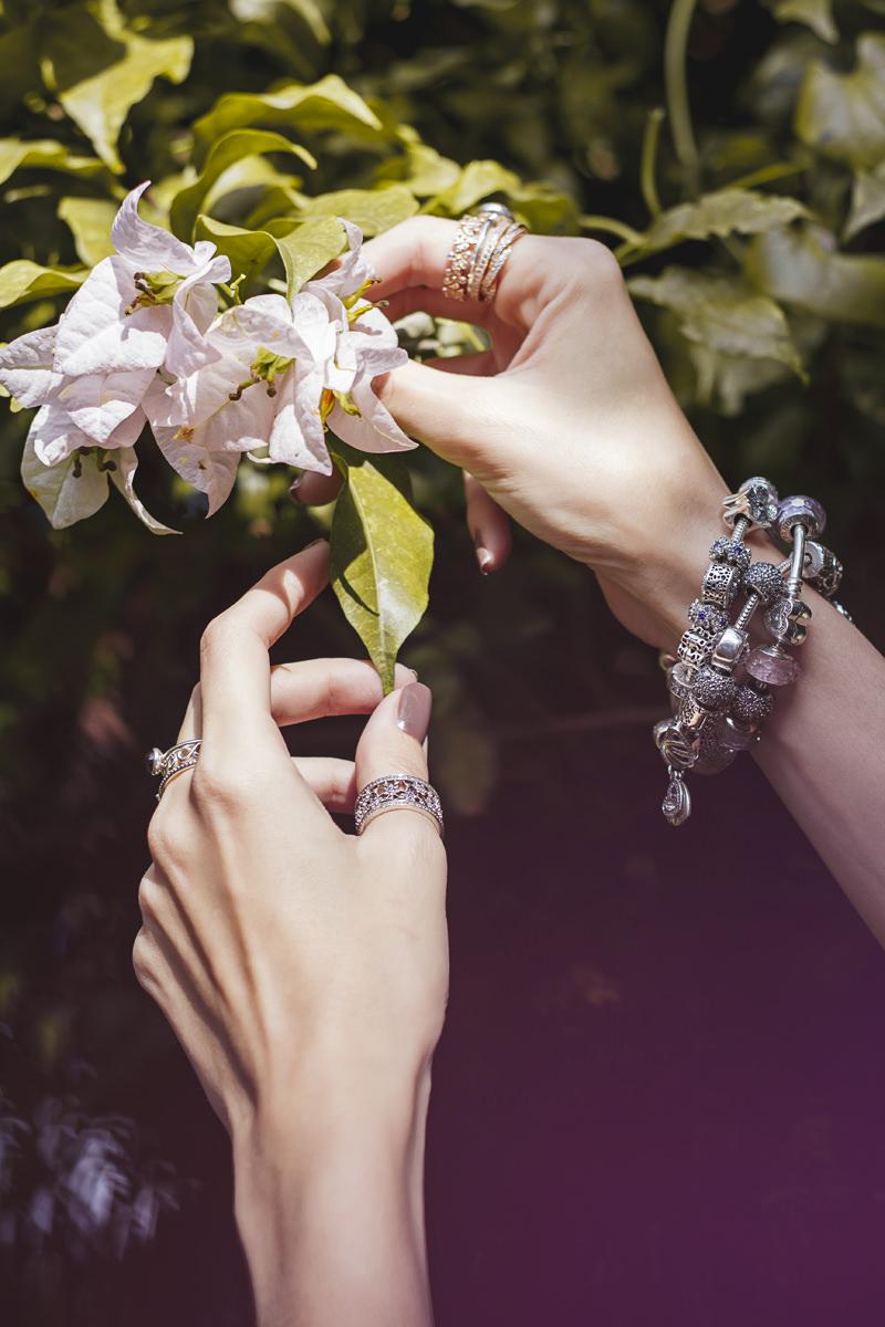 FashionCoolture - 16.05.2016 look du jour Pandora bracelets romantic outfit floral (6)
