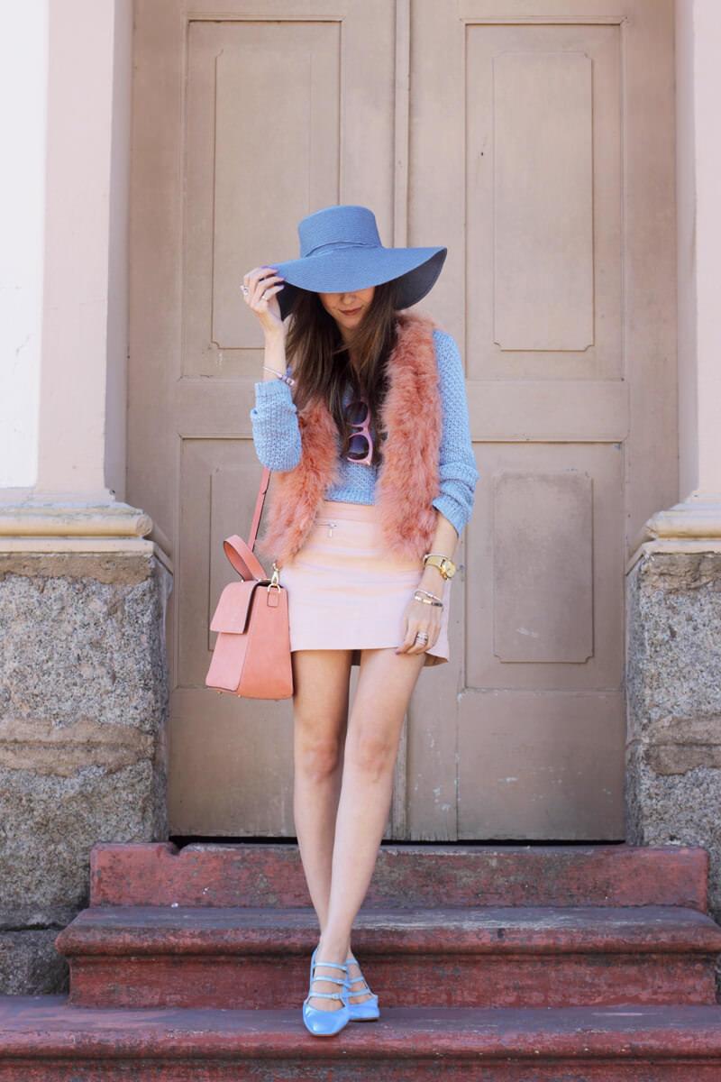 FashionCoolture - 18.05.2016 look du jour Pastel tones outfit baby pink (1)