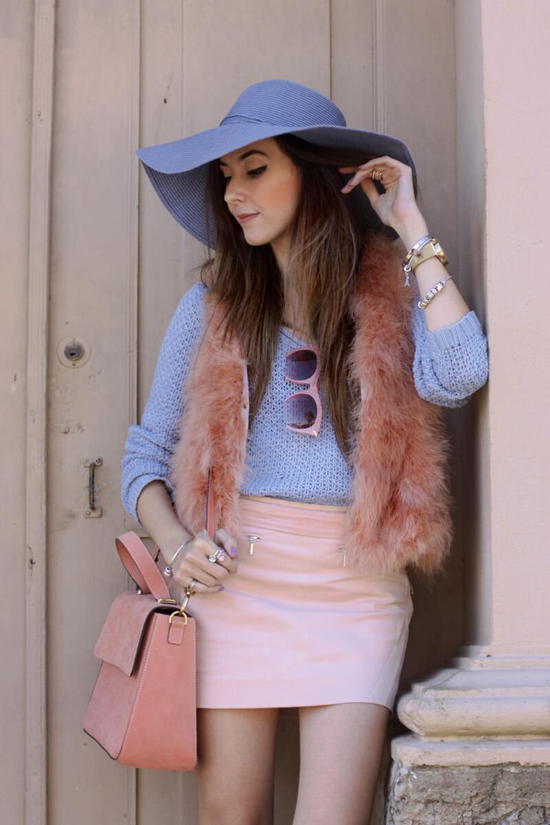 FashionCoolture - 18.05.2016 look du jour Pastel tones outfit baby pink (2)