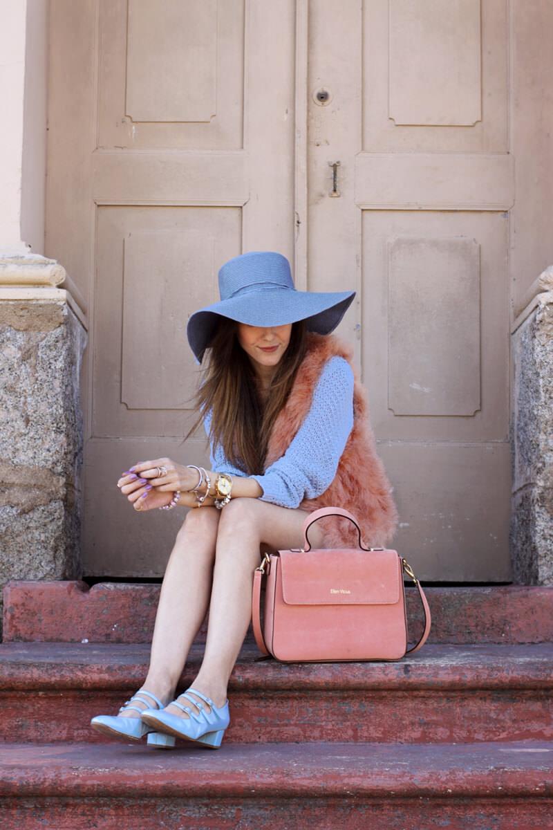 FashionCoolture - 18.05.2016 look du jour Pastel tones outfit baby pink (4)