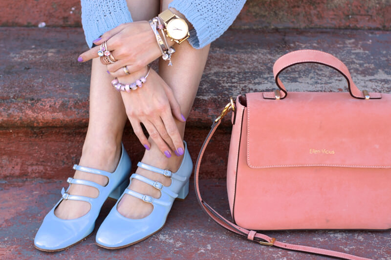 FashionCoolture - 18.05.2016 look du jour Pastel tones outfit baby pink (6)
