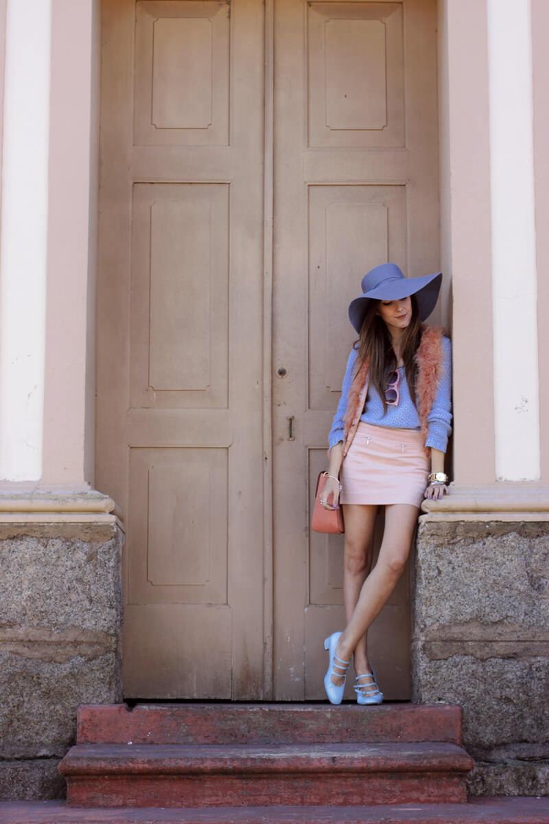 FashionCoolture - 18.05.2016 look du jour Pastel tones outfit baby pink (7)