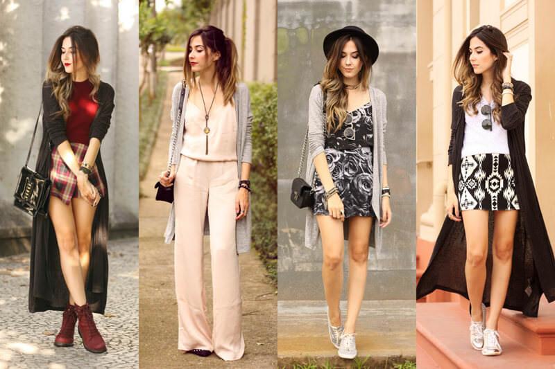FashionCoolture - como usar cardigan longo