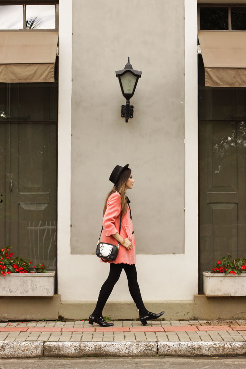 FashionCoolture - look du jour scallop coat preppy look (3)