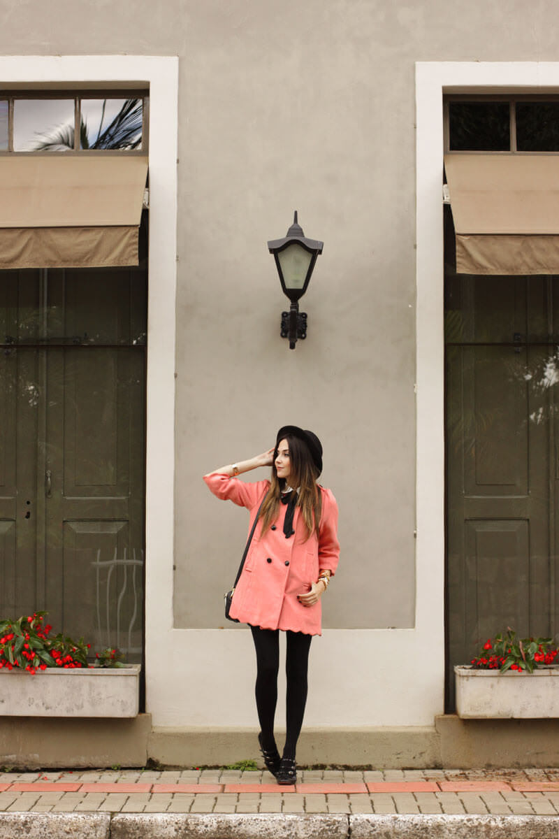 FashionCoolture - look du jour scallop coat preppy look (6)