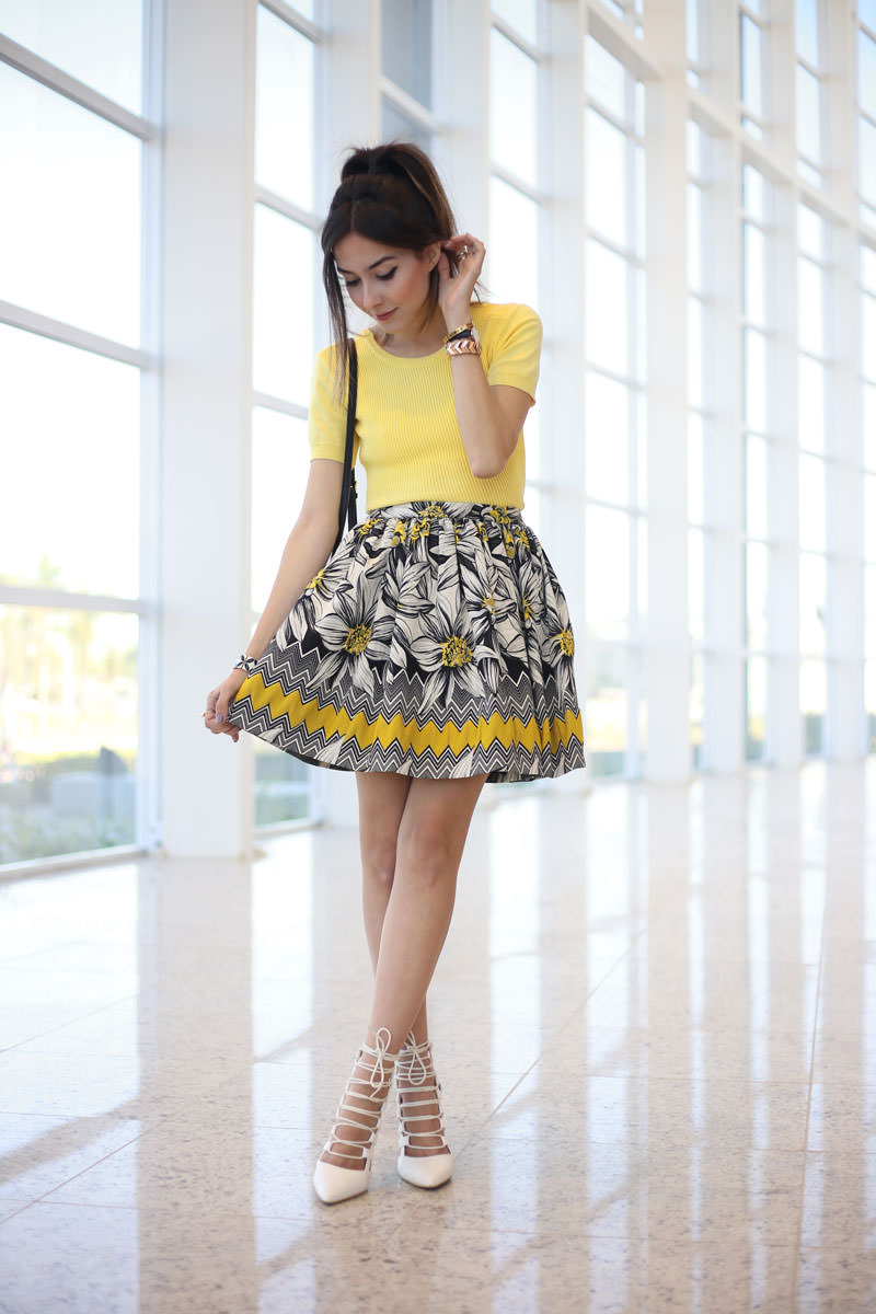 7 yellow colorful look blog fashioncoolture
