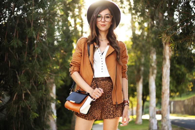 FashionCoolture - 04.07.2016 look du jour Shoulder leopard print camel jacket (2)