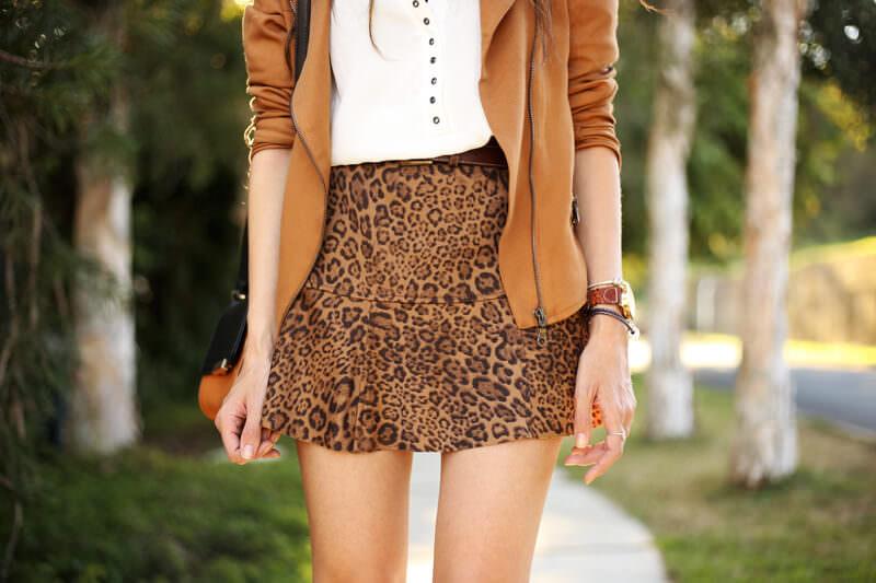 FashionCoolture - 04.07.2016 look du jour Shoulder leopard print camel jacket (4)