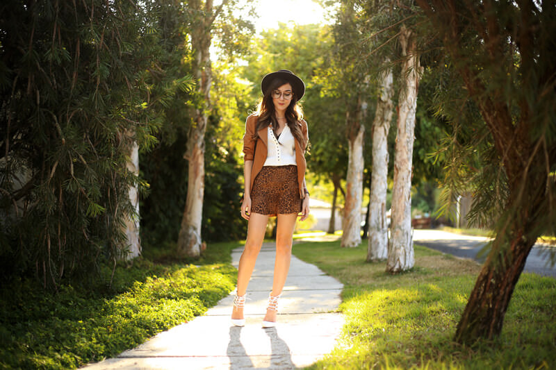 FashionCoolture - 04.07.2016 look du jour Shoulder leopard print camel jacket (7)