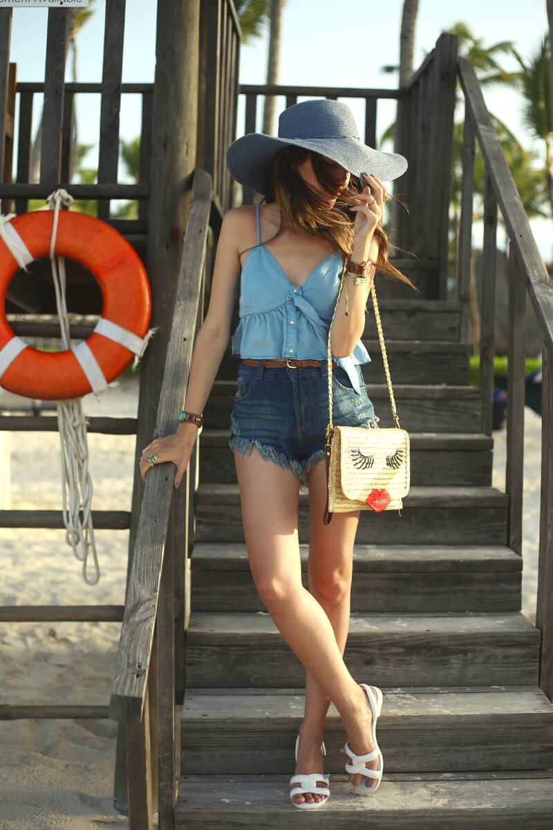 FashionCoolture - 07.07.2016 look du jour all denim Punta Cana summer (1)
