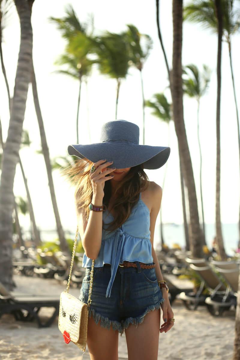 All Denim Outfit Punta Cana Fashioncoolture