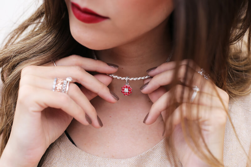 FashionCoolture - 13.07.2016 look Pandora bracelet charms flor oriental (2)