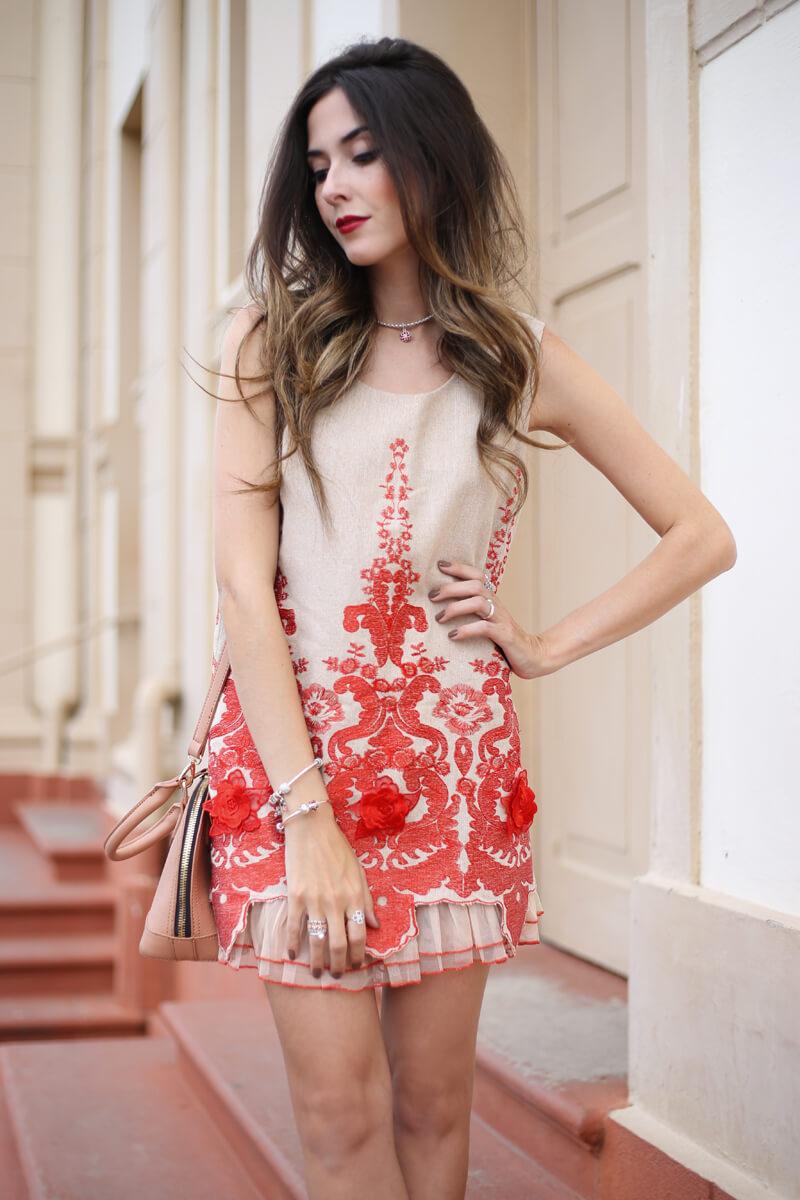 FashionCoolture - 13.07.2016 look Pandora bracelet charms flor oriental (3)