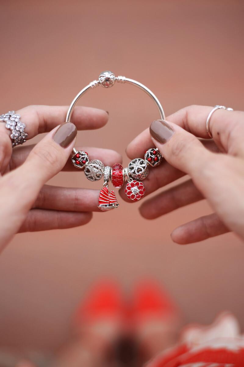 FashionCoolture - 13.07.2016 look Pandora bracelet charms flor oriental (4)