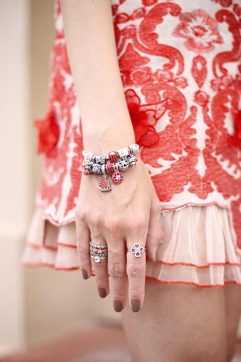 FashionCoolture - 13.07.2016 look Pandora bracelet charms flor oriental (6)