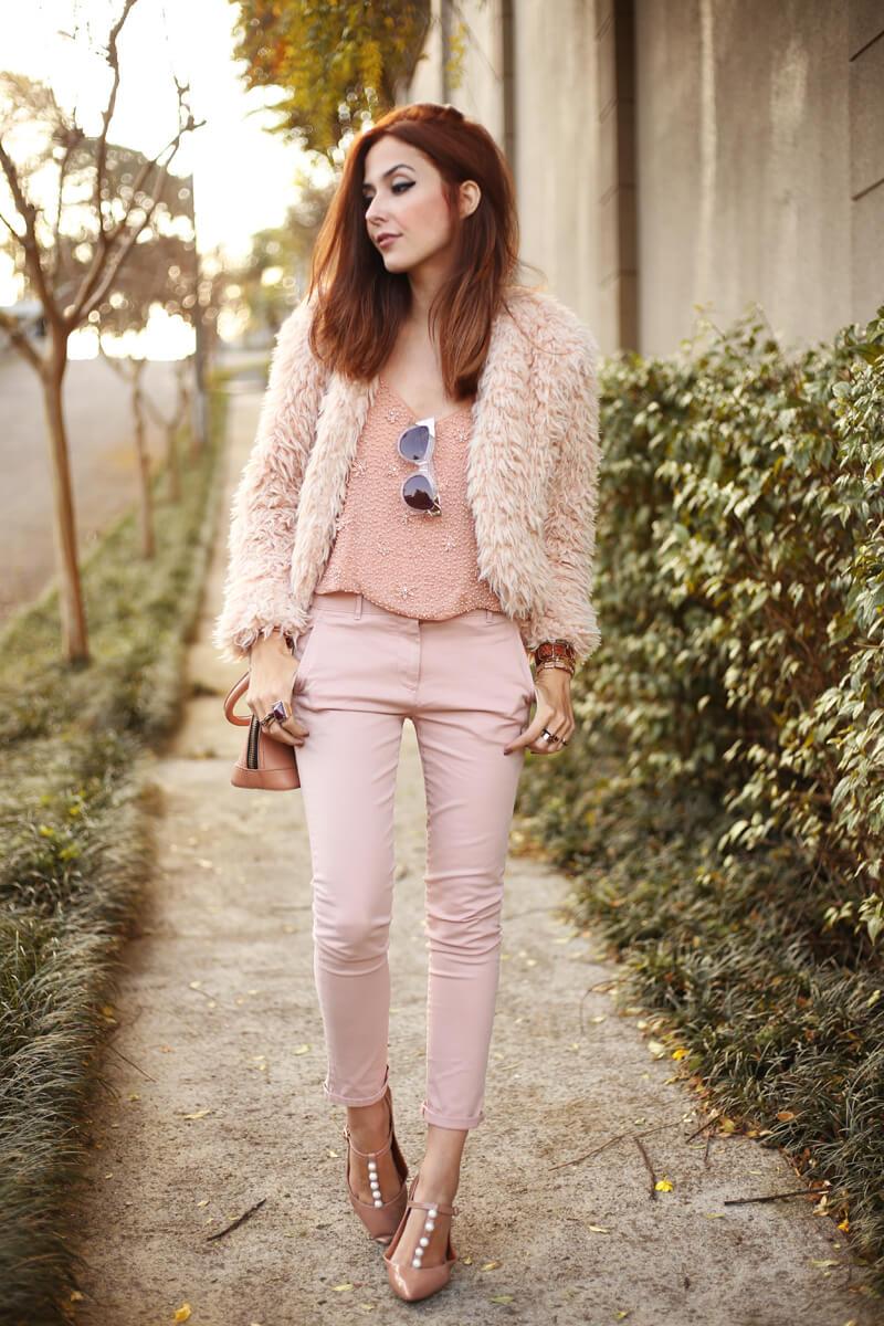 FashionCoolture - 15.07.2016 look du jour baby pink monochromatic outfit (1)