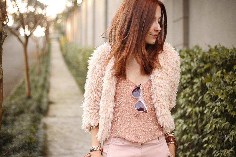 FashionCoolture - 15.07.2016 look du jour baby pink monochromatic outfit (2)