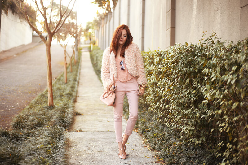 FashionCoolture - 15.07.2016 look du jour baby pink monochromatic outfit (4)