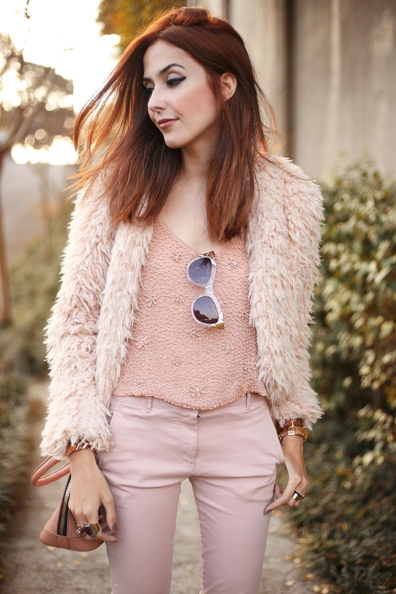 FashionCoolture - 15.07.2016 look du jour baby pink monochromatic outfit (7)